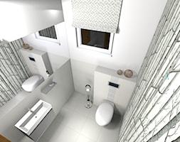 Białe WC - zdjęcie od OXA DESIGN - Oksana Pałczyńska