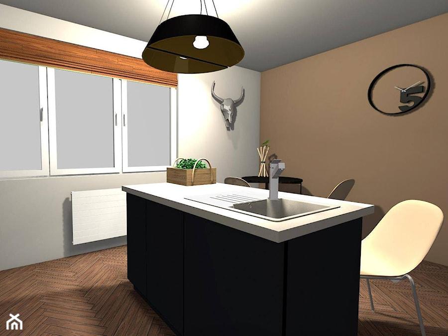 Nieduża kuchnia w mieszkaniu  Kuchnia  zdjęcie od   -> Kuchnia Weglowa Barbara