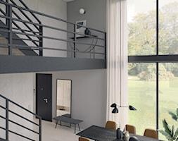 Salon z jadalnią - zdjęcie od Mohav Design - Homebook