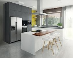 Aneks kuchenny z wyspą - zdjęcie od Mohav Design
