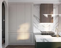 Aneks z wyspą kuchenną - zdjęcie od Mohav Design - Homebook