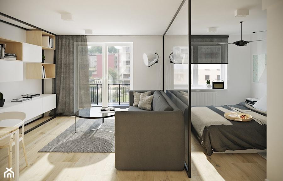 Salon oraz sypialnia - zdjęcie od Mohav Design - homebook
