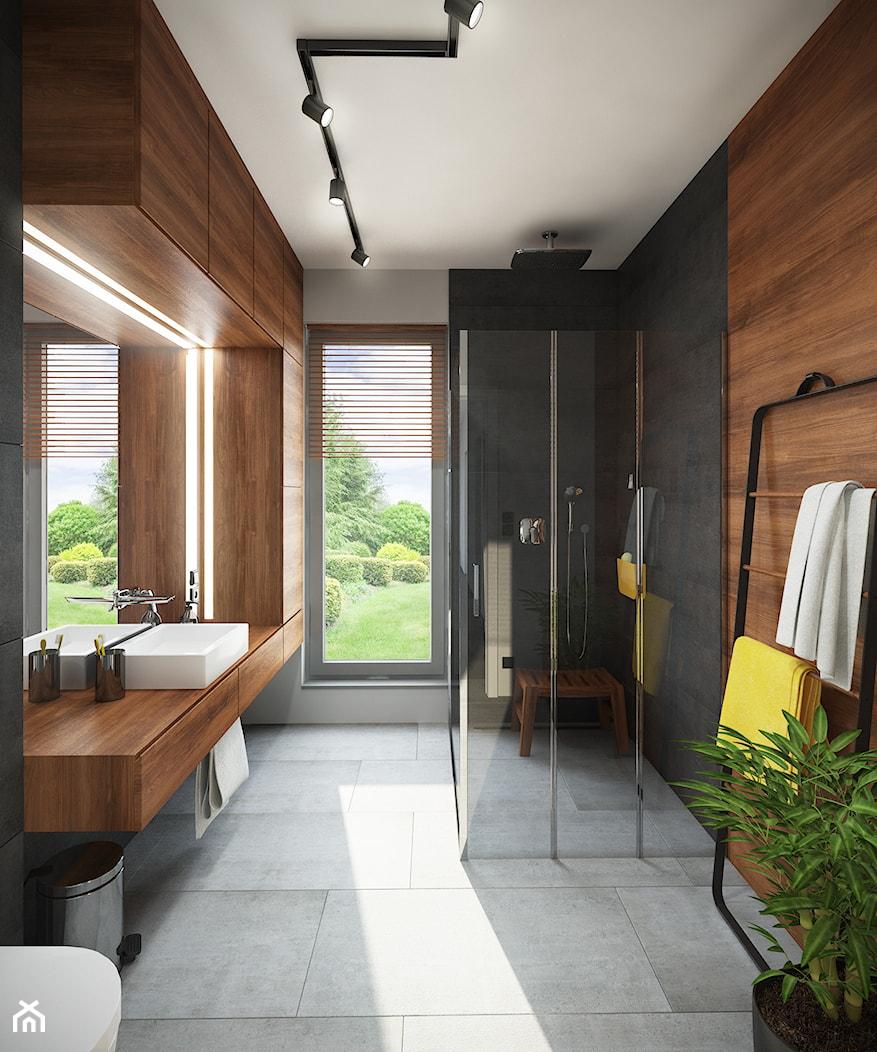 Łazienka z prysznicem - zdjęcie od Mohav Design - Homebook
