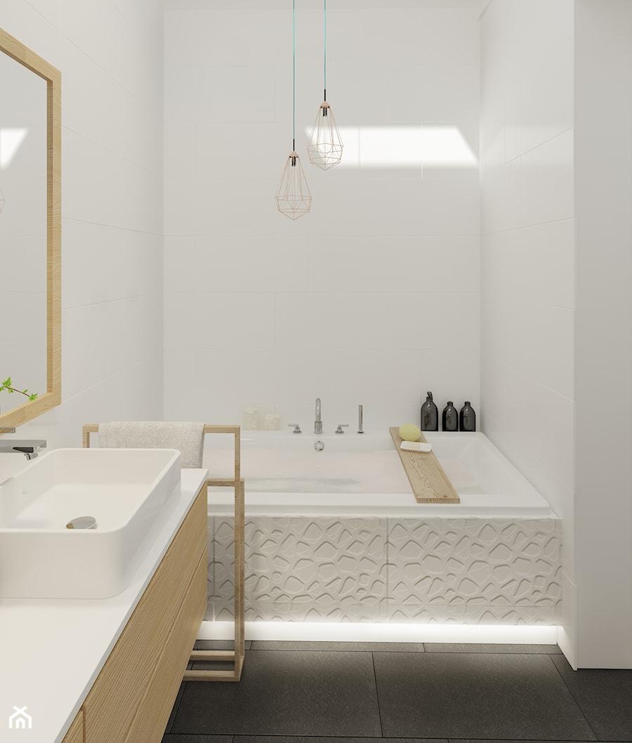 Łazienka na piętrze - zdjęcie od Mohav Design