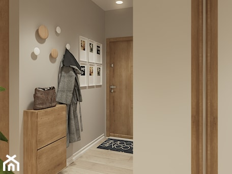 Aranżacje wnętrz - Hol / Przedpokój: Hol- widok na wejście do mieszkania - Mohav Design. Przeglądaj, dodawaj i zapisuj najlepsze zdjęcia, pomysły i inspiracje designerskie. W bazie mamy już prawie milion fotografii!