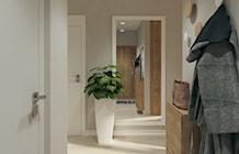 Hol- wodk z wejścia do mieszkania - zdjęcie od Karolina Krac architekt wnętrz
