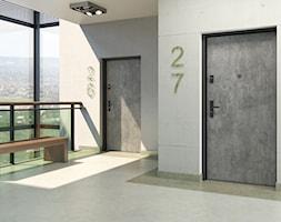 Drzwi zewnętrzne - Wnętrza publiczne, styl industrialny - zdjęcie od POL-SKONE - Homebook