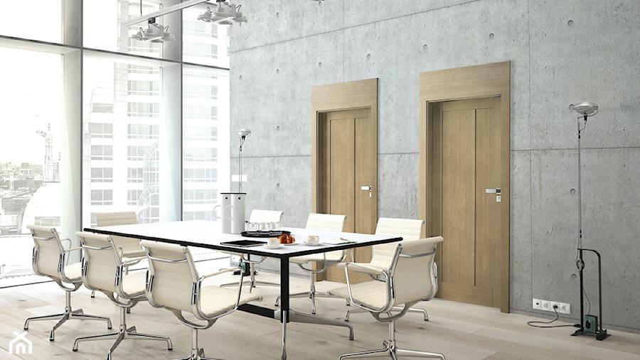 Drzwi wewnętrzne - Wnętrza publiczne, styl eklektyczny - zdjęcie od POL-SKONE