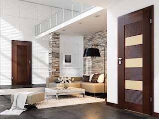 Ciemne czy jasne drzwi w nowoczesnym wnętrzu?