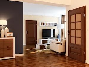 Drzwi wewnętrzne fornirowane – 7 modeli, które wprowadzą naturalny klimat do Twojego domu