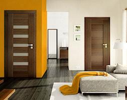 Drzwi wewnętrzne - Salon, styl nowoczesny - zdjęcie od POL-SKONE