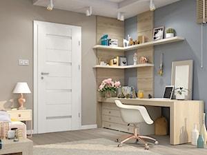 Drzwi wewnętrzne - Pokój dziecka, styl tradycyjny - zdjęcie od POL-SKONE