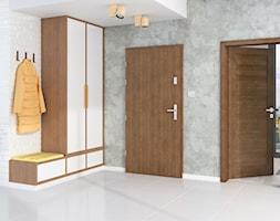 Drzwi zewnętrzne - Hol / przedpokój, styl eklektyczny - zdjęcie od POL-SKONE - Homebook