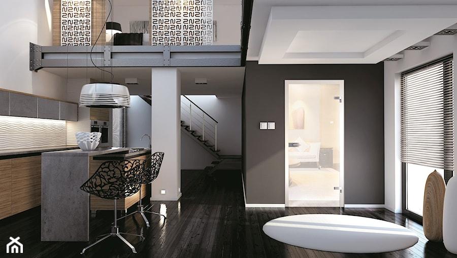 Drzwi wewnętrzne - Kuchnia, styl nowoczesny - zdjęcie od POL-SKONE