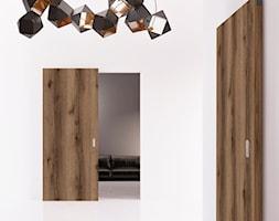 Drzwi wewnętrzne - Hol / przedpokój, styl minimalistyczny - zdjęcie od POL-SKONE - Homebook
