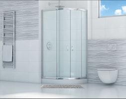 kabina prysznicowa asymetryczna - zdjęcie od Sea-Horse Łazienka w dobrym stylu - Homebook