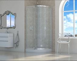 kabina prysznicowa jednoskrzydłowa - zdjęcie od Sea-Horse Łazienka w dobrym stylu - Homebook