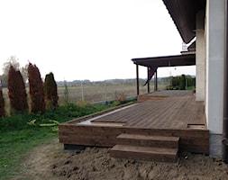 Zabudowa tarasu -Patio etap II - zdjęcie od Bryniak Woodworking