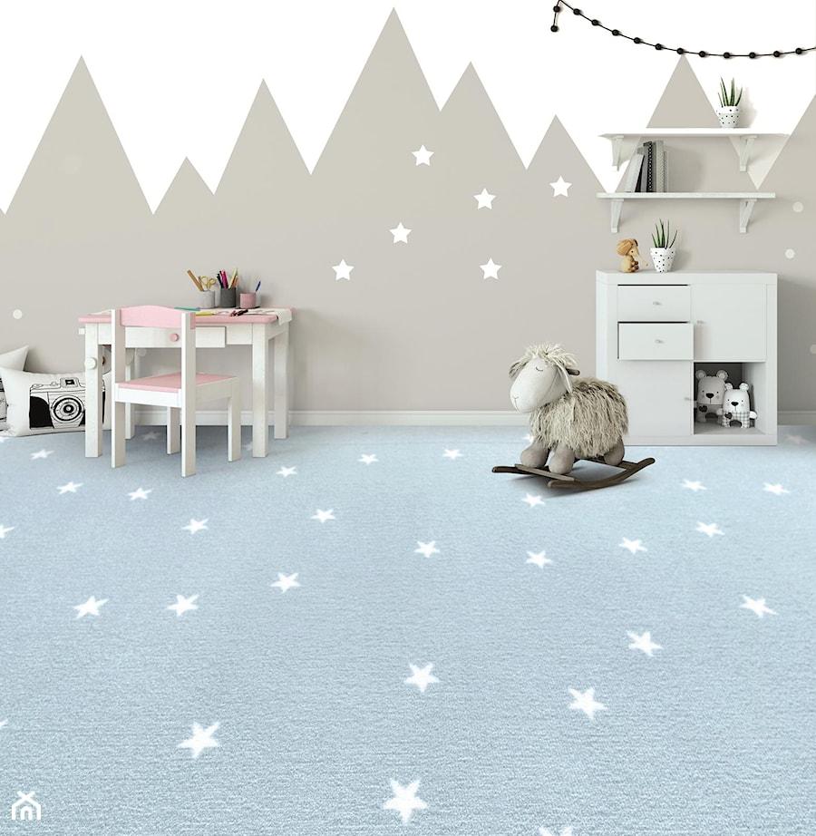 Wykładzina Dywanowa Stella Niebieski Zdjęcie Od Komfort