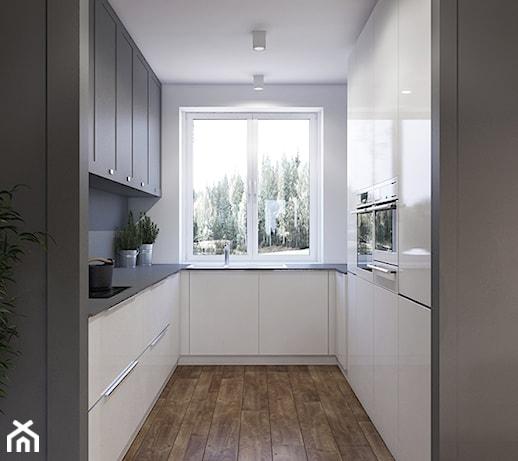 Wąska Kuchnia W Bloku Z Oknem Pomysły Inspiracje Z Homebook