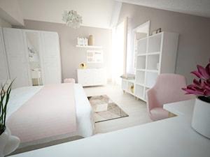 Romantyczny pokój nastolatki - zdjęcie od Alpra biuro projektowe