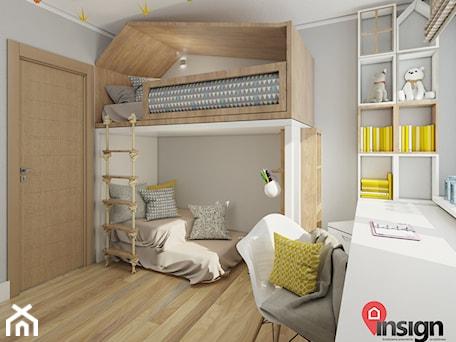 Aranżacje wnętrz - Pokój dziecka: RUSL-01 - InSign Aranżacje i projekty wnętrz. Przeglądaj, dodawaj i zapisuj najlepsze zdjęcia, pomysły i inspiracje designerskie. W bazie mamy już prawie milion fotografii!