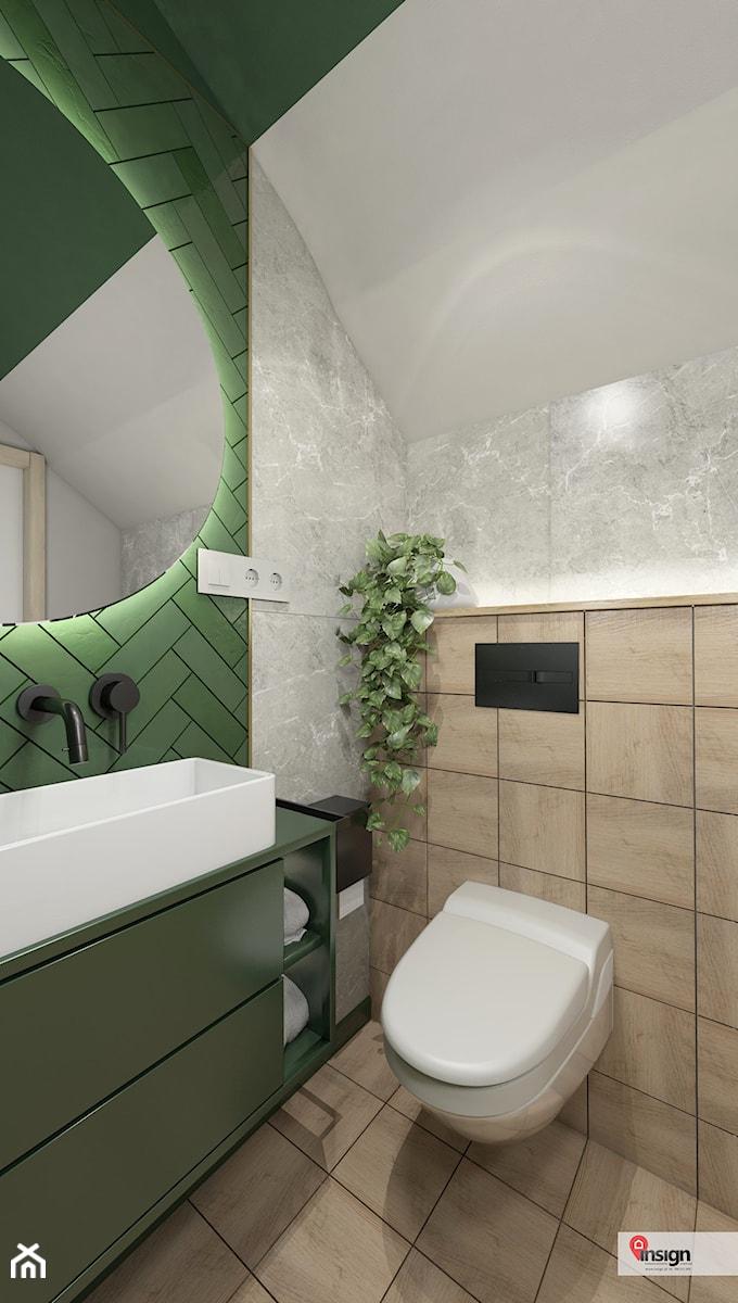 NIEB_01 - Łazienka, styl vintage - zdjęcie od InSign Aranżacje i projekty wnętrz