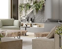 KIEL_01 - Salon, styl nowoczesny - zdjęcie od InSign Aranżacje - Homebook