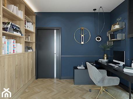 Aranżacje wnętrz - Biuro: Domowe biuro - InSign Aranżacje i projekty wnętrz. Przeglądaj, dodawaj i zapisuj najlepsze zdjęcia, pomysły i inspiracje designerskie. W bazie mamy już prawie milion fotografii!