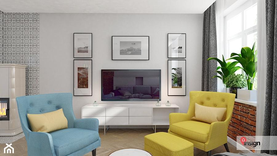 Aranżacje wnętrz - Salon: GLI_01 - Mały biały salon, styl tradycyjny - InSign Aranżacje i projekty wnętrz. Przeglądaj, dodawaj i zapisuj najlepsze zdjęcia, pomysły i inspiracje designerskie. W bazie mamy już prawie milion fotografii!