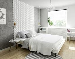 Sypialnia+w+stylu+skandynawskim+-+zdj%C4%99cie+od+Formea+Studio