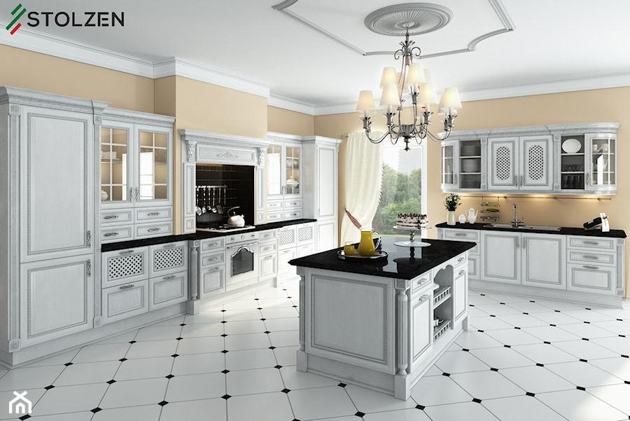 Aranżacje wnętrz - Kuchnia: Kuchnia Stolzen Exclusive -NEMEZIS - Stolzen. Przeglądaj, dodawaj i zapisuj najlepsze zdjęcia, pomysły i inspiracje designerskie. W bazie mamy już prawie milion fotografii!