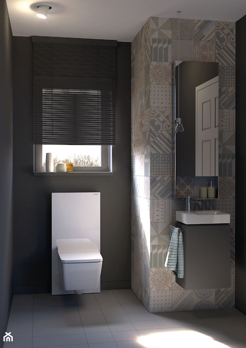 Aranżacje łazienka Styl Nowoczesny Zdjęcie Od Geberit