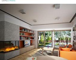 Dla Globtrotera 2 - salon - zdjęcie od Pracownia projektowa Domy z Miętą