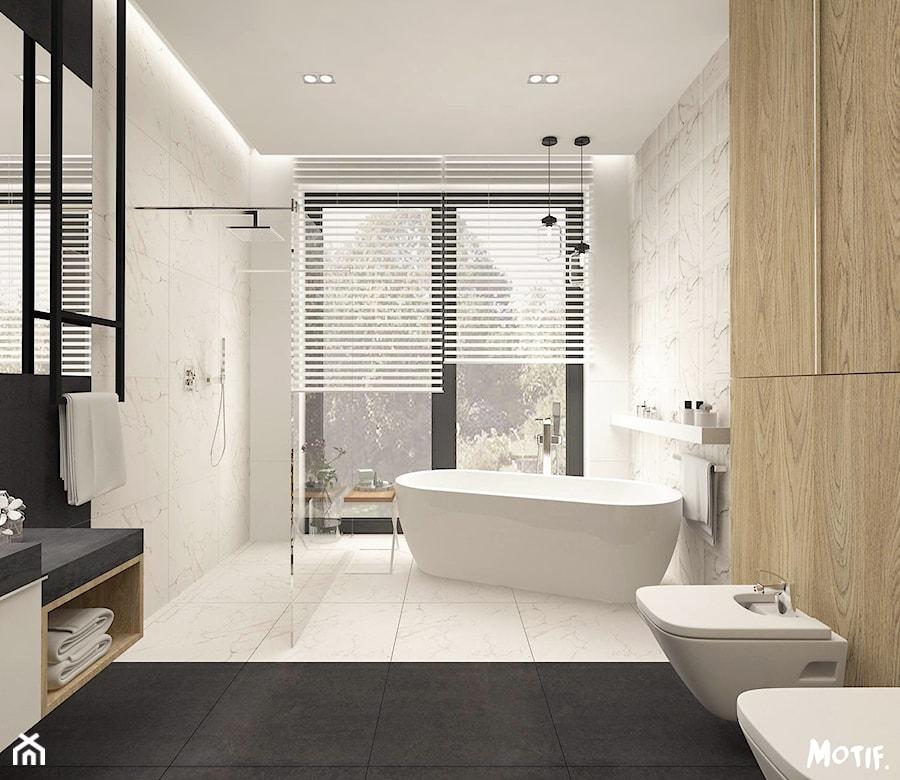 Projekt Domu W Słupnie łazienka 3 Duża łazienka W Bloku W