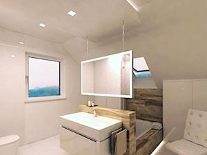 Łazienka na poddaszu - zdjęcie od Modern House Studio Architektury