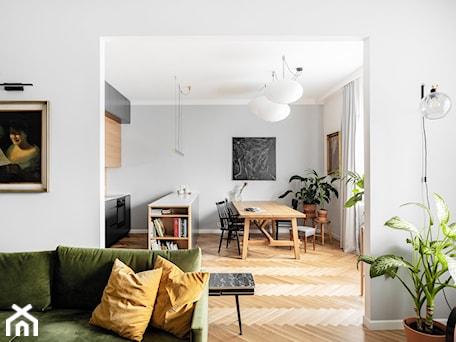 Aranżacje wnętrz - Salon: mieszkanie na Starej Ochocie - Salon, styl vintage - Bogaczewicz Architecture Studio. Przeglądaj, dodawaj i zapisuj najlepsze zdjęcia, pomysły i inspiracje designerskie. W bazie mamy już prawie milion fotografii!