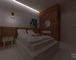 Industrialne+mieszkanie+na+Pradze+%7C+Warszawa+%7C+Sypialnia+-+zdj%C4%99cie+od+comfytura+studio