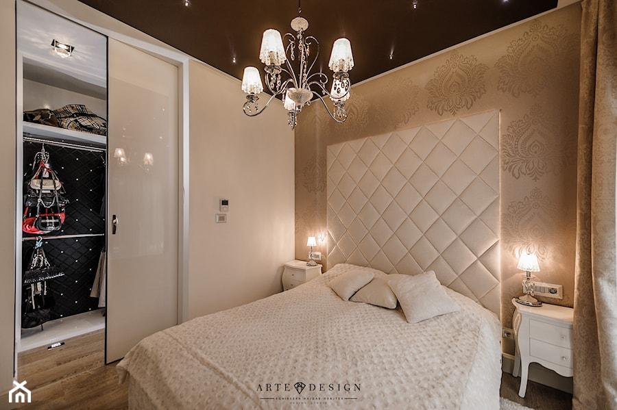 Elegancki Apartament W Gdyni Mała Sypialnia Małżeńska Z
