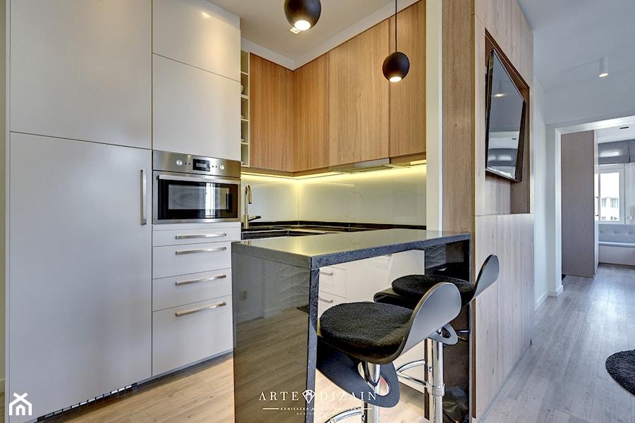 Mieszkanie na wynajem  Sopot  Mała otwarta kuchnia w   -> Kuchnia Polowa Wynajem Gdansk