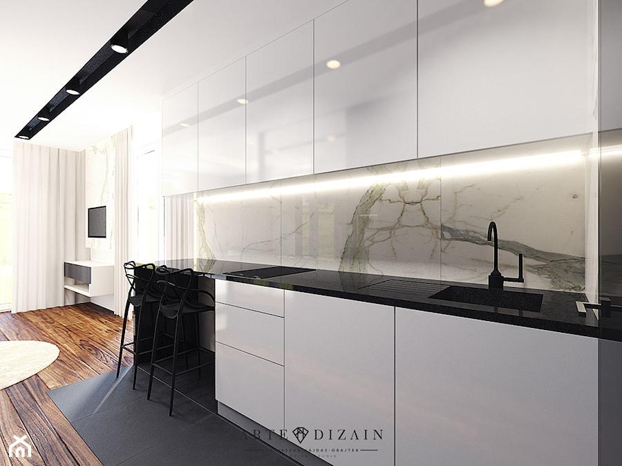 Wizualizacja Wnętrz Apartamentów W Sopocie średnia Otwarta