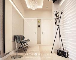 Gabinet dentystyczny w Gdańsku - Średni biały beżowy hol / przedpokój, styl nowoczesny - zdjęcie od Arte Dizain
