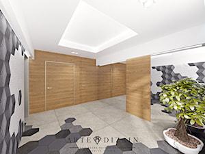 Dom w Gdyni - Średni hol / przedpokój - zdjęcie od Arte Dizain