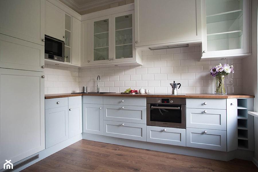 kuchnie nowoczesne i minimalistyczne  Średnia otwarta   -> Kuchnia Ikea Czy Brw