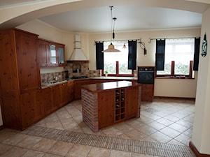 kuchnie rustykalne