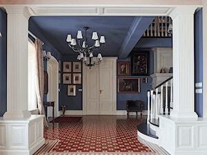 Niebieski hol - zdjęcie od INNA-Manufaktura Wnętrz