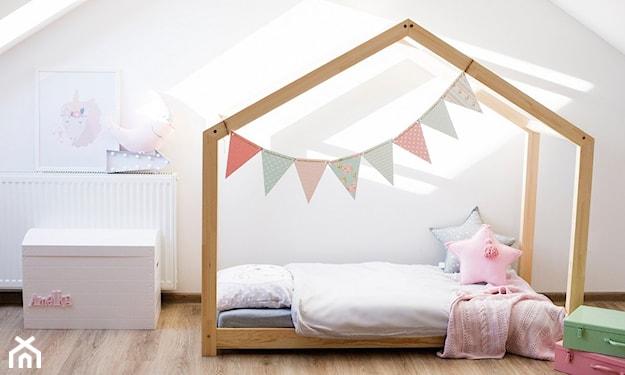 domek łóżeczko