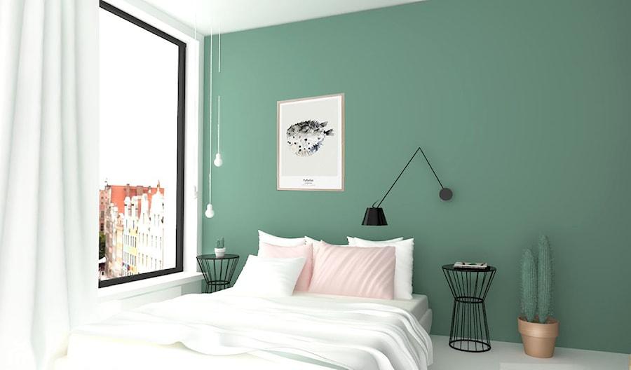Sypialnia W Zieleni Zdjęcie Od Design Your Home With Me
