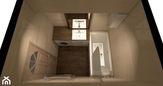łazienk w bloku widok - zdjęcie od Arka Ceramika i Łazienka - Homebook