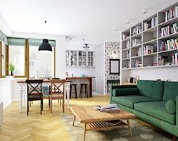 Zielone Bielany - Salon, styl skandynawski - zdjęcie od EG projekt - Homebook